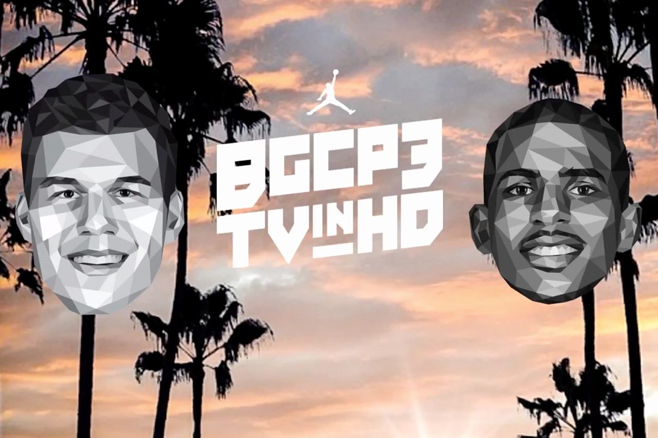 Blake Griffin & Chris Paul Team Up for BGCP3TVinHD