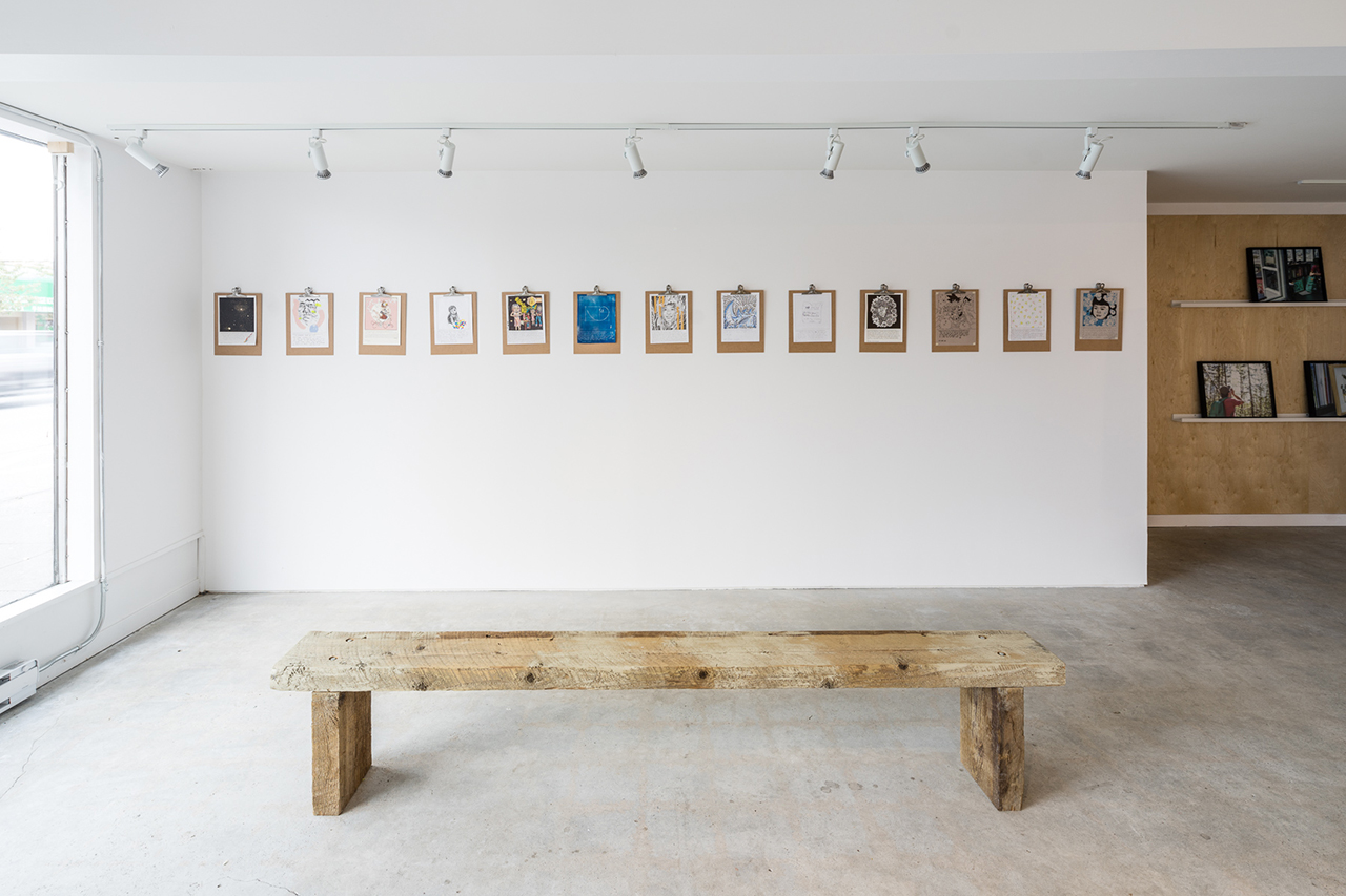 "Booooooom & Herschel Supply Co.'s ""Drawing On The Past"" Exhibition"