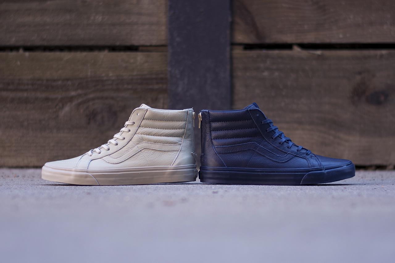 """Vans California Sk8-Hi Zip CA """"Boot Leather"""" Collection"""