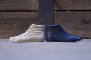"Vans California Sk8-Hi Zip CA ""Boot Leather"" Collection"