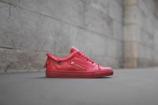 Buscemi 50mm Low Top Red Sneaker