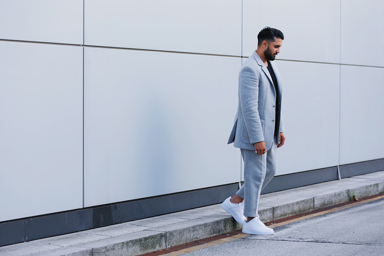 "Clothsurgeon Reconstructs Nike Fleece into a Customized ""SweatSUIT"""