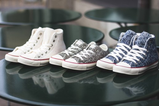 Converse Release a Series of Winter-Appropriate Knitted Chuck Taylor All-Stars