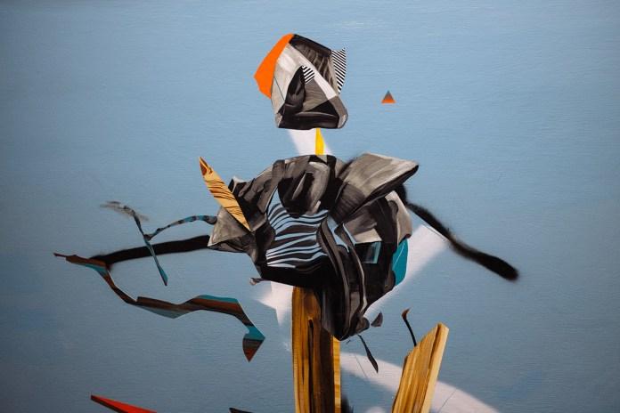 "Dave Kinsey ""Cushion of Memory"" Exhibition @ Library Street Collective Recap"