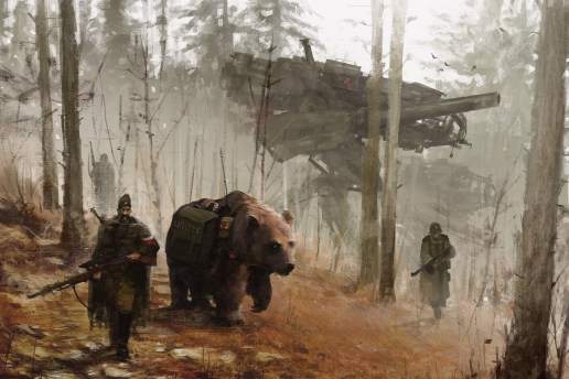 Digital Paintings by Jakub Rozalski