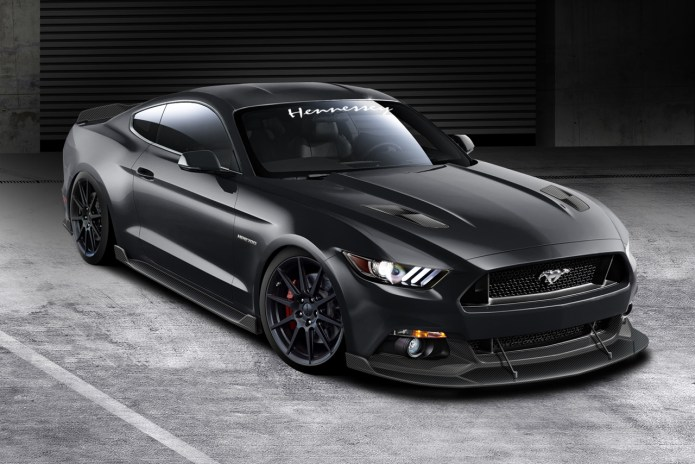 Hennessey Unveils Supercharged 717HP 2015 Ford Mustang