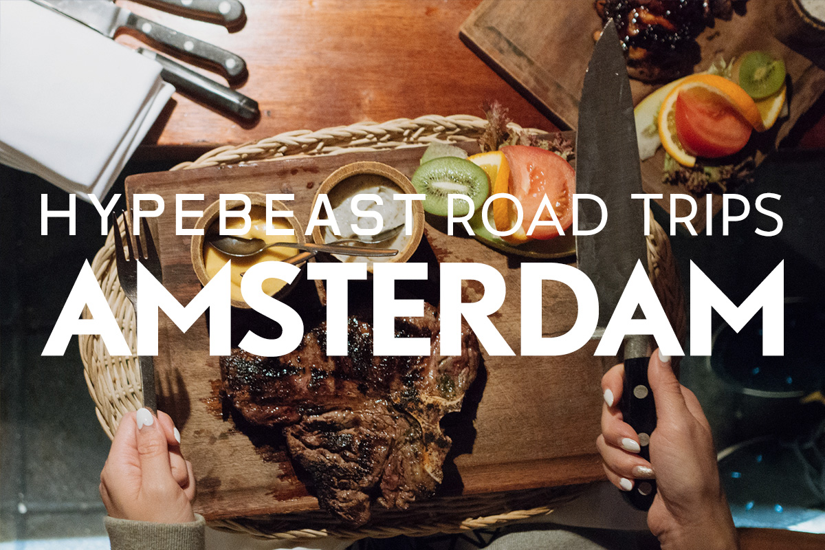 HYPEBEAST Road Trips Amsterdam: A Meat Lover's Feast at Castell