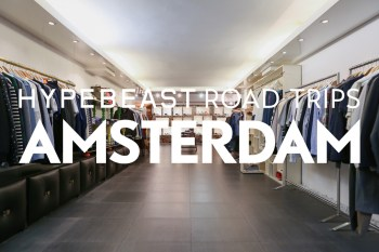 HYPEBEAST Road Trips Amsterdam: Japanese Fashion Meets European Style at 290 Square Meters