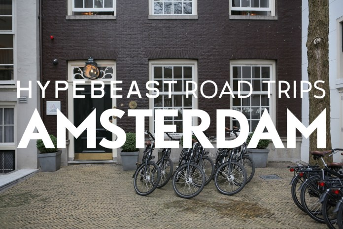 HYPEBEAST Road Trips Amsterdam: Luxury Overlooking the Canal at The Dylan