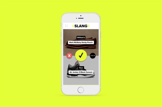 Introducing the Slang App: A New Way to Trade Your Sneakers