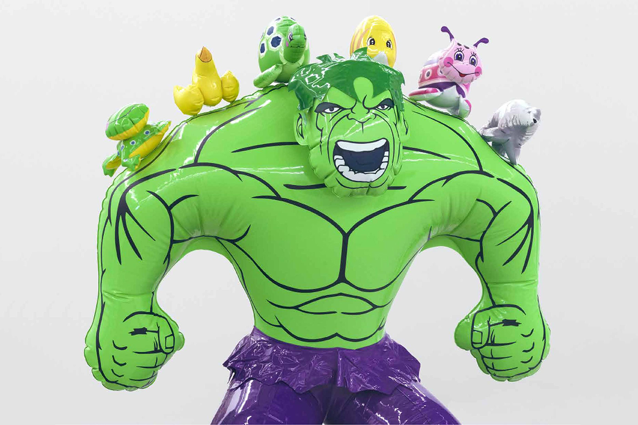 "Jeff Koons ""Hulk Elvis"" Exhibition at Gagosian Gallery Hong Kong"