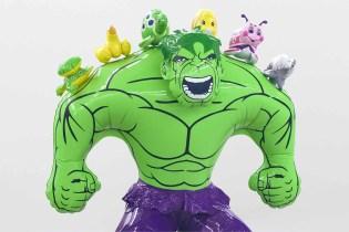 """Jeff Koons """"Hulk Elvis"""" Exhibition at Gagosian Gallery Hong Kong"""
