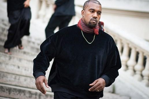 Kanye West's Paris Fashion Week Lookbook
