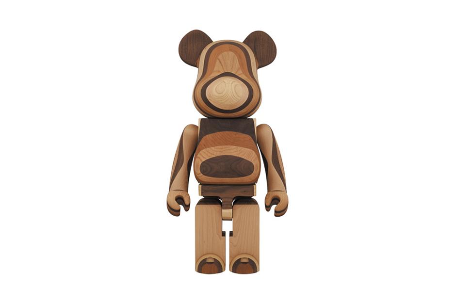 Karimoku x Medicom Toy 1000% Layered Wood Bearbrick