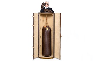 Karl Lagerfeld Designs $175,000 Punching Bag for Louis Vuitton