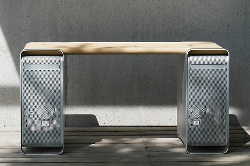Klaus Geiger Constructs Contemporary Furniture Out of Apple Power Mac G5s