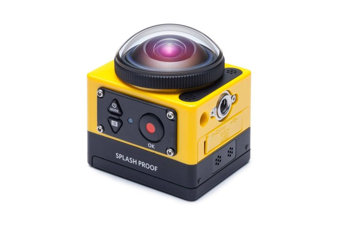Kodak Introduces the 360-Degree PIXPRO SP360 Action Camera