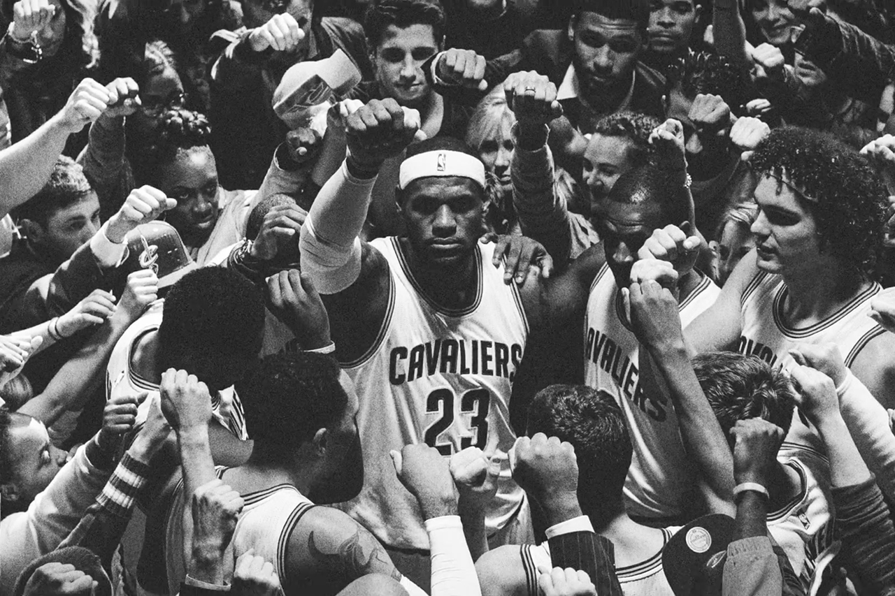 """LeBron James Leads Cleveland in Stunning """"Together"""" Nike Basketball Commercial"""