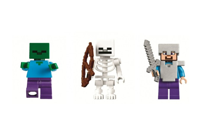 LEGO's New Minecraft Collection Leaked Online