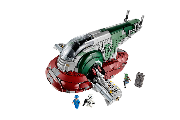 LEGO Is Releasing a 2,000-Piece Version of Boba Fett's Slave I from Star Wars: The Empire Strikes Back