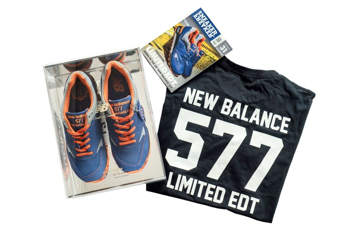 Limited Edt x New Balance Made in England M577LEV Box Set