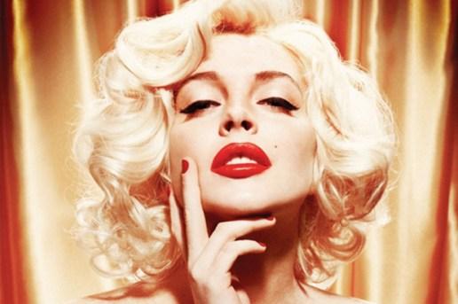 Lindsay Lohan as Marilyn Monroe for Playboy