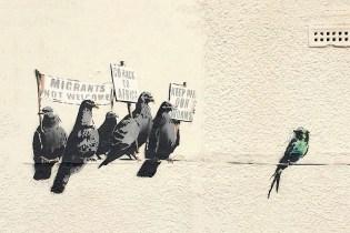 "Local Council Destroys ""Offensive"" Banksy Mural"
