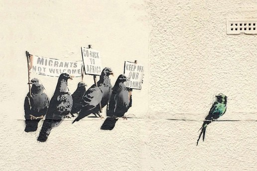 "Local Council Destroys ""Offensive"" Banksy Mural"