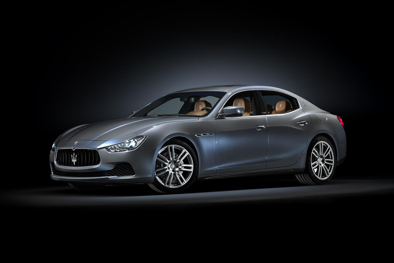 Maserati Unveils the Ghibli Ermenegildo Zegna Edition Concept Car