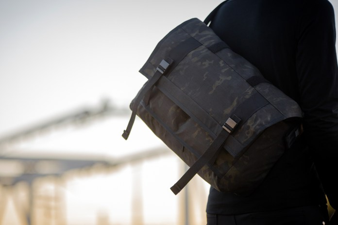 Mission Workshop Black Camo Series Messenger Bags