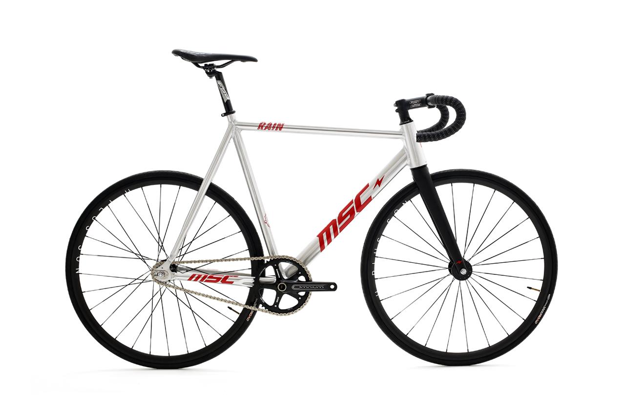 "Mott Street Cycles ""MSC Rain"" Pro-Model Track Bike"