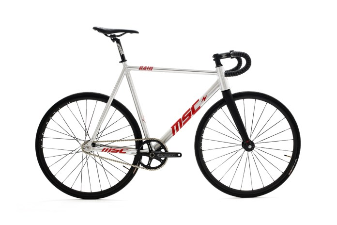 "Mott Street Cycles ""MSC Rain"" Pro-Model Track Bike"