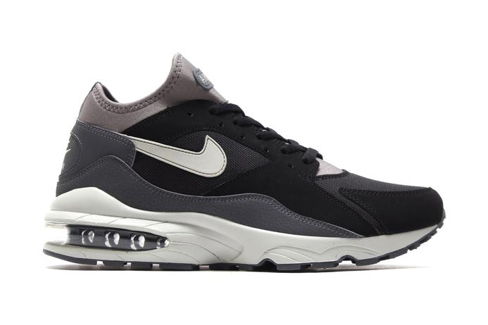 Nike Air Max 93 Black/Granite-Medium Base Grey