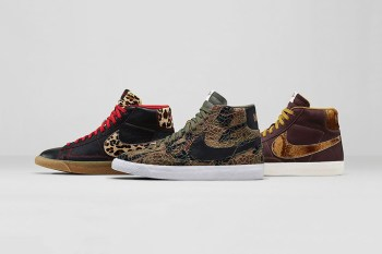 "Nike Blazer Mid Premium Vintage ""Safari"" Collection"