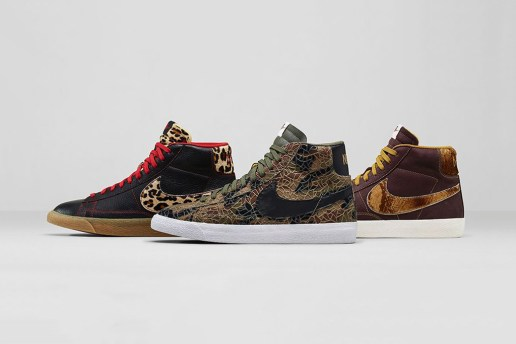 "Nike Blazer Mid Premium Vintage ""Safari"" Collection"