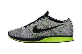 Nike Flyknit Racer Black/Volt/White