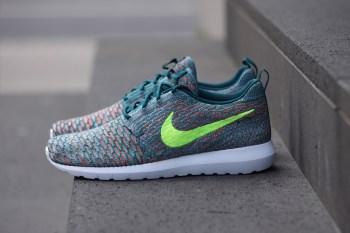 "Nike Flyknit Roshe Run ""Mineral Teal"""