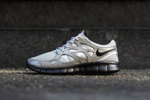 Nike Free Run 2 Metallic Silver/Black