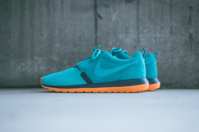 Nike Roshe Run NM Dusty Cactus/Spruce Blue