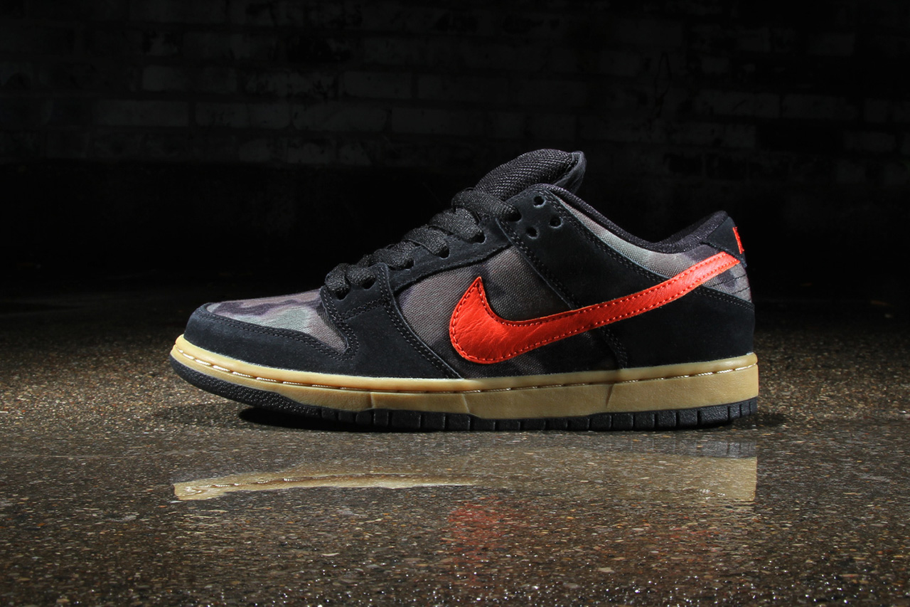 Nike SB Dunk Low Premiums Black/Rough Green