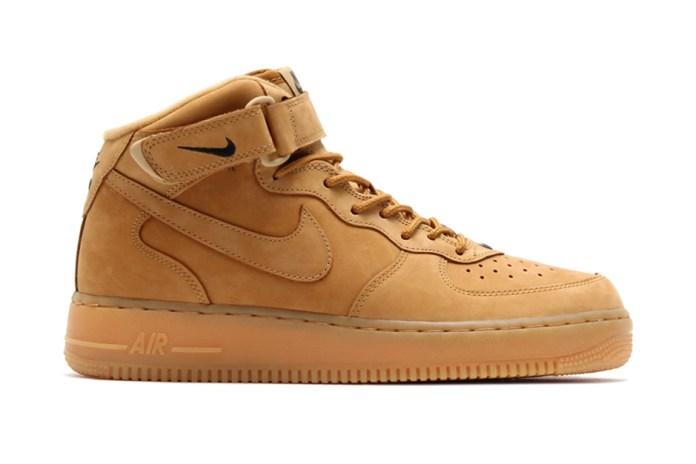 "Nike Air Force 1 Mid ""Wheat"""