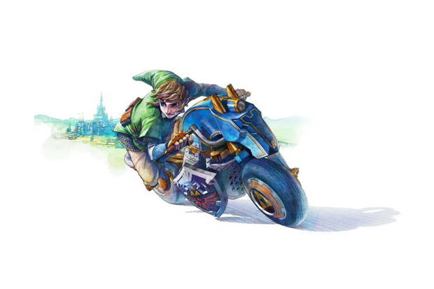 """Nintendo Adds Link to the Mario Kart 8 Roster and Previews the """"Master Cycle"""""""
