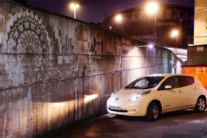 "Nissan's ""Clean Graffiti"" Video Shows Graffiti In A New Light"
