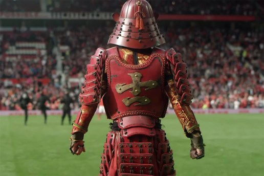 Nissin Cup Noodle's Football-Playing Samurai Heads to Manchester