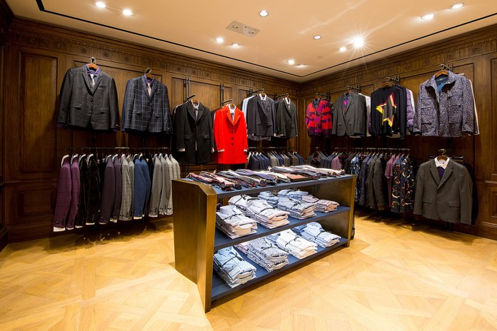 Paul Smith Opens Its First Men's Store in Greater China