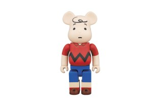 Peanuts x Medicom Toy 400% Charlie Brown Bearbrick