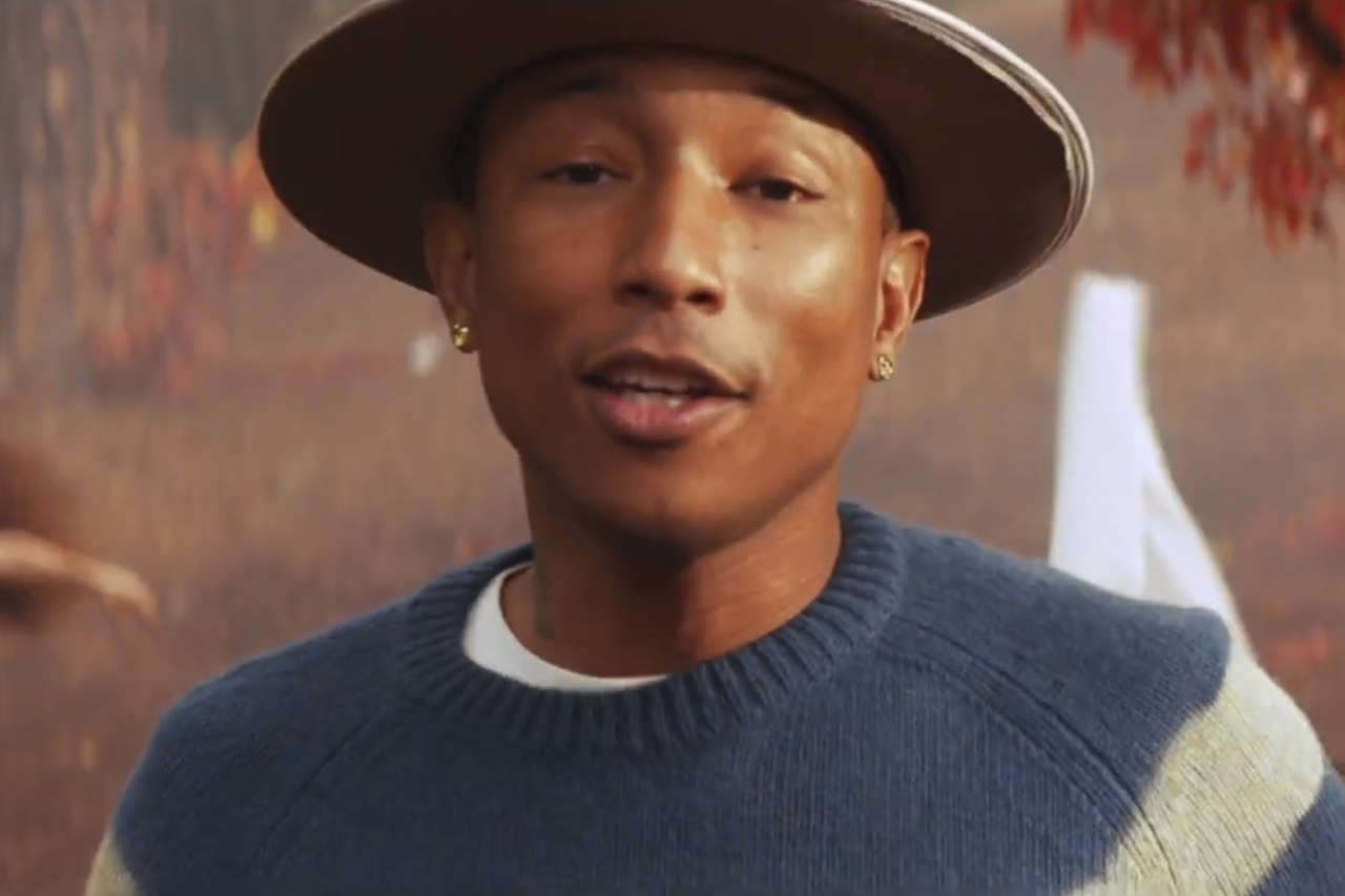 "Pharrell featuring Daft Punk ""Gust of Wind"" Music Video"