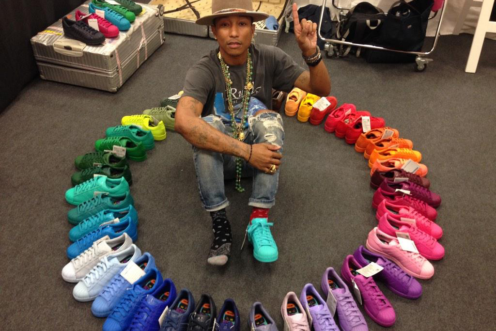 Pharrell Previews His Upcoming Collaborations with adidas Originals