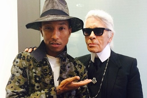 Pharrell to Star in Karl Lagerfeld's Upcoming Chanel Film