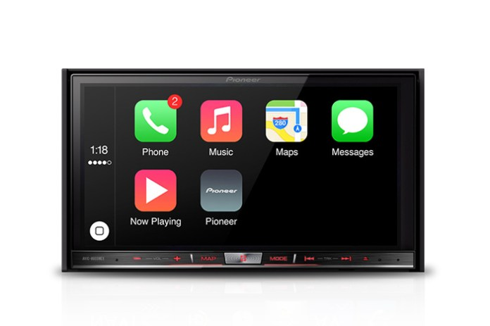 Pioneer Brings Apple's CarPlay to the Aftermarket World